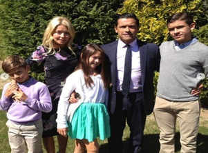 Kelly Ripa, Mark and kids dish on their wild