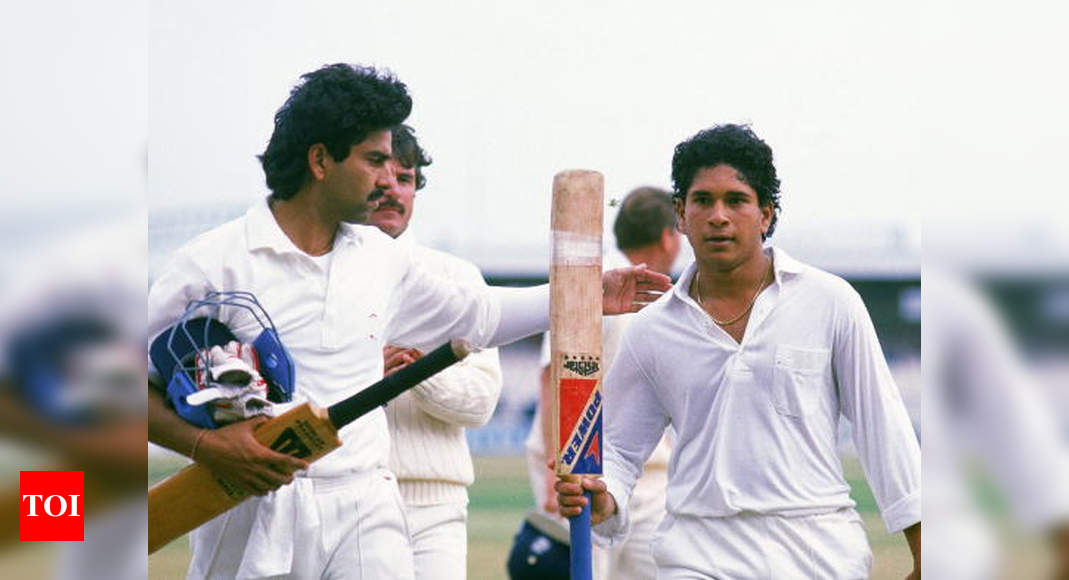 30th anniversary of first ton: Sialkot sowed seeds of Manchester hundred, says Tendulkar - Times of India