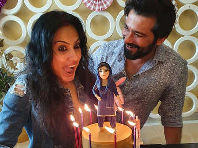 Kamya's gets a unique surprise from hubby