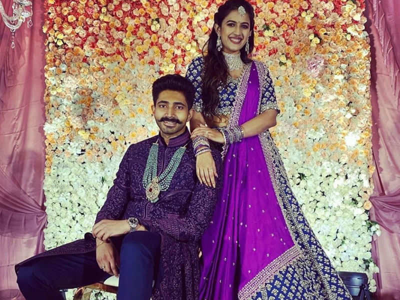 TV host-turned-actress Niharika Konidela gets engaged to beau Chaitanya JV;  see first pictures - Times of India