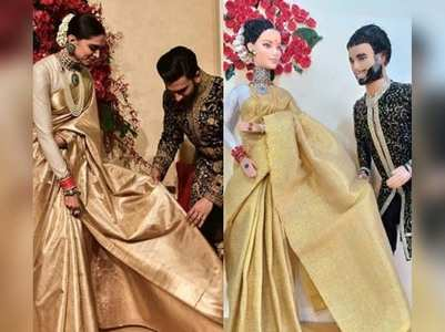 DeepVeer get dolls inspired by reception look