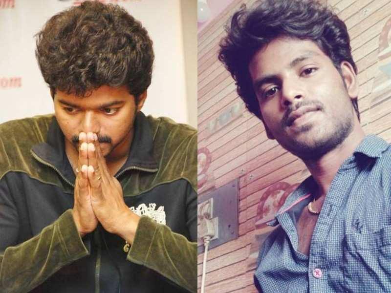 Vijay's fan commits suicide, fans trend hashtag #RIPBala