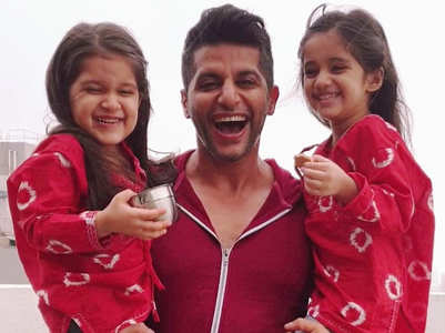 Karanvir's heart-warming message for twins