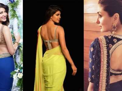Hottest blouse designs to flaunt with saris