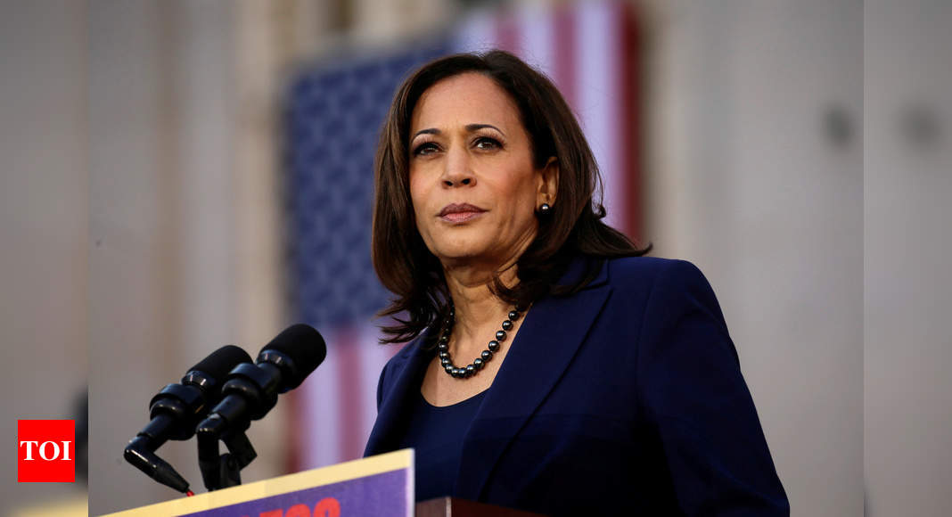 Is Kamala Harris Eligible To Serve As Us Vice President President Times Of India