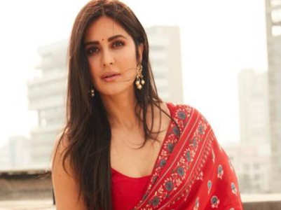 6 lightweight saris inspired by Katrina Kaif every minimalist bride must bookmark!