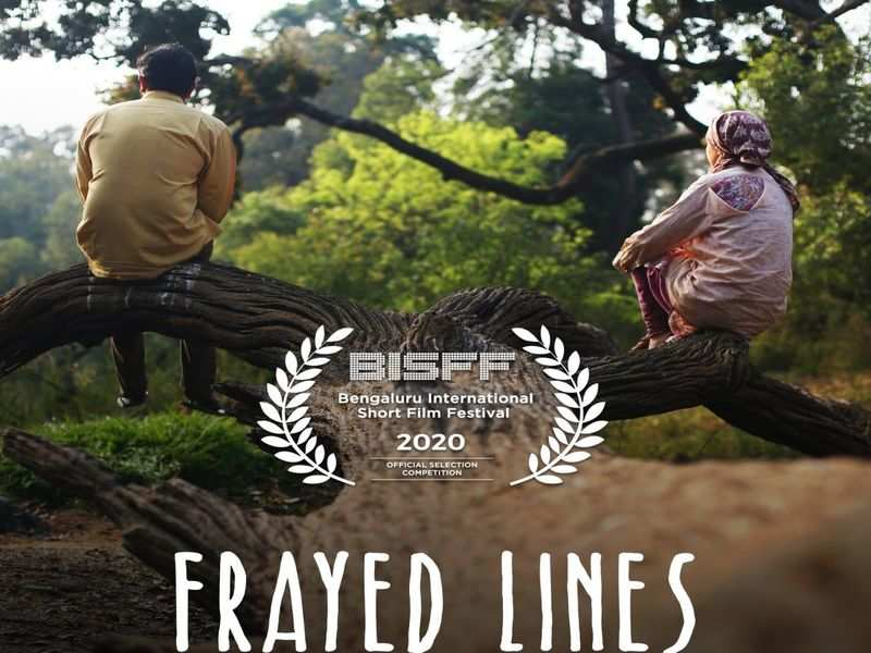 Priya Belliappa's  Frayed Lines is part of the Bengaluru International Short Film Festival