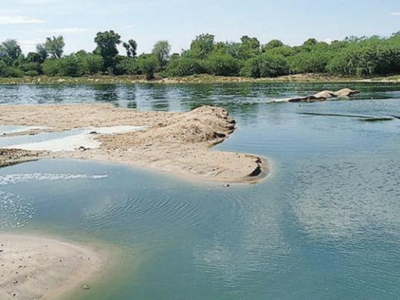 Rajasthan: Effluents from textile units pose threat to Luni River | Ajmer  News - Times of India