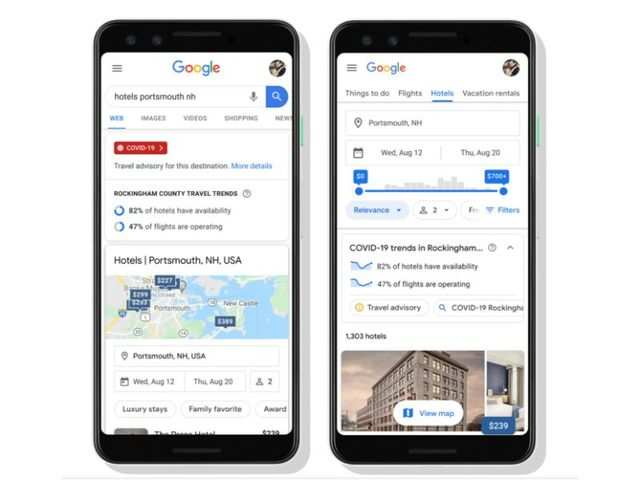 Google's two new features will make your travel plans easier