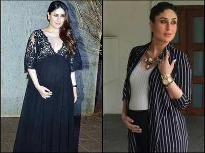 When Kareena showed off her baby bump