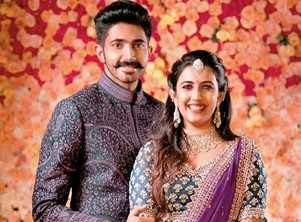 A star-studded engagement for Niharika Konidela and Chaitanya JV