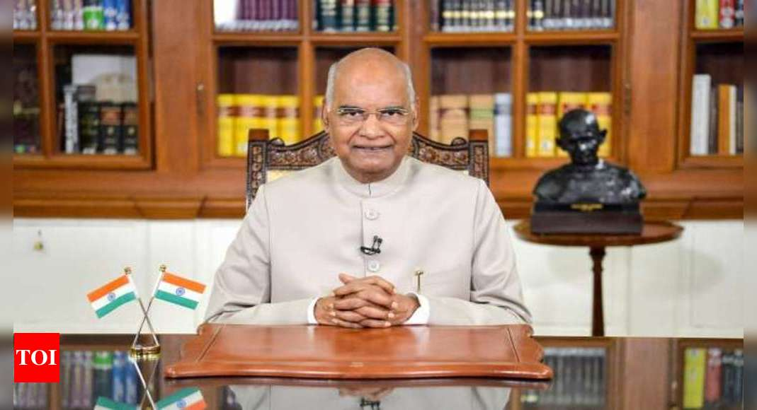 President Kovind will host some really special guests 'At Home' today | India News – Times of India