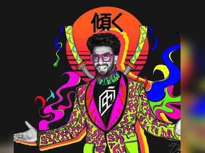 Ranveer Singh shares funky pictures on Insta