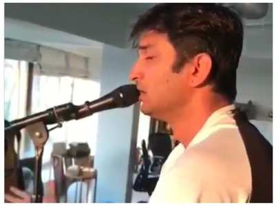 Watch: Throwback video of SSR reciting bhajan