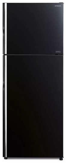 Hitachi RVG400PND8-GBK 375 L 2 Door Refrigerator Stylish Line RVG400PND8-GBK,Glass Black Inverter