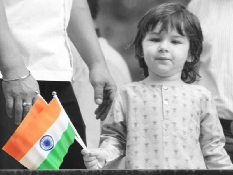 Kareena Kapoor Khan shares an adorable photo of son Taimur Ali Khan holding an Indian flag, wishes everyone on Independence day