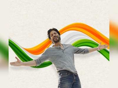 SRK extends Independence Day greetings
