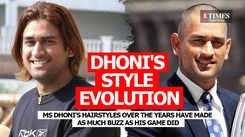 MS Dhoni's style evolution