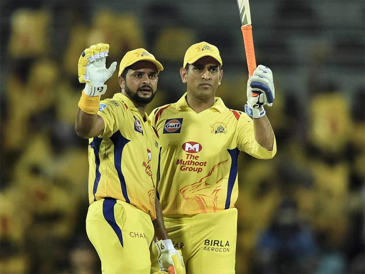 IPL 13: CSK share video of Dhoni, Raina during camp   Cricket News - Times  of India