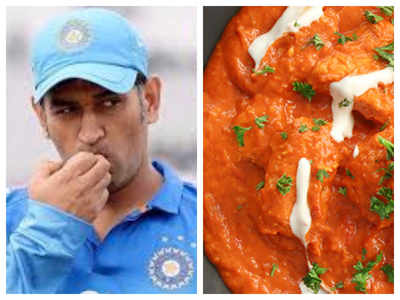 Mahendra Singh Dhoni's love for Chicken Butter Masala and more