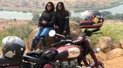 Famous mother-daughter duo Manjari and Gargi Biche, who have been riding for five years now, are missing out on going for road trips on their motorbikes