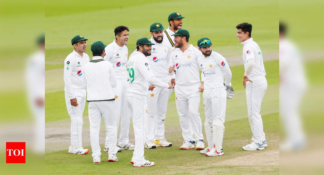 England vs Pakistan, 2nd Test: England and Pakistan draw rain-hit Southampton Test - Times of India