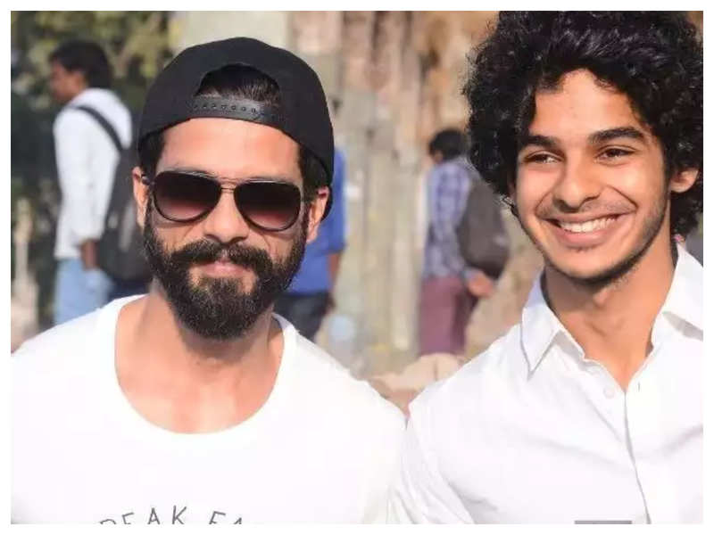 Ishaan Khatter says he has no ego being recognised as Shahid Kapoor's brother
