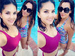 New pictures of Sunny Leone with her bestie will make you hit the pool…