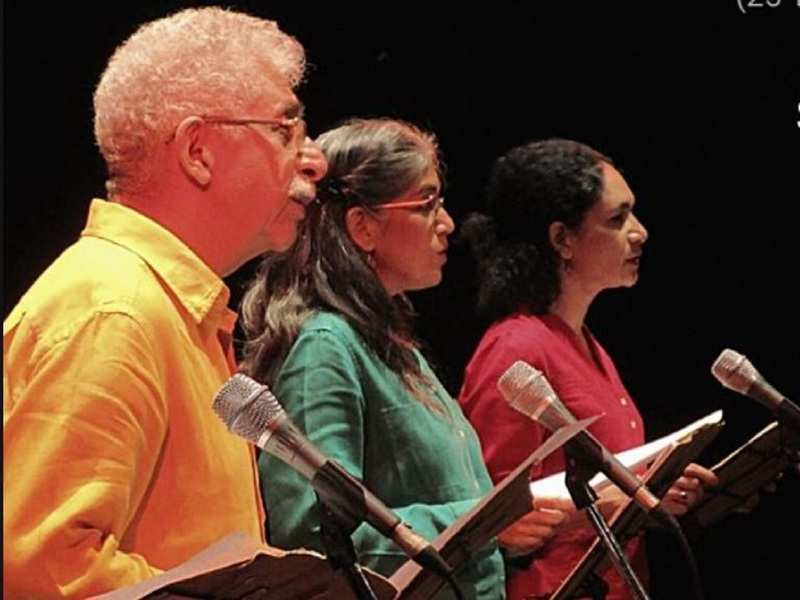 Watch Naseeruddin Shah and Ratna Pathak Shah at an online reading session