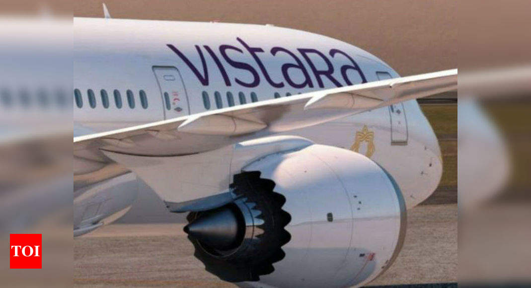 Vistara to start London flights from August 28; will also fly to Paris &  Frankfurt - Times of India