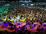 Amid Covid-19 outbreak around the world, thousands party together without masks in China's ground zero
