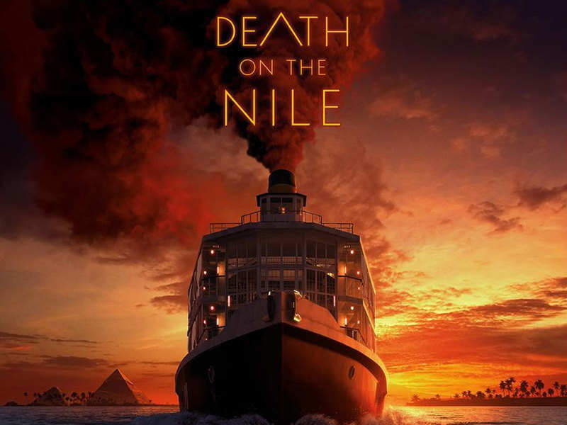 'Death on the Nile' movie poster