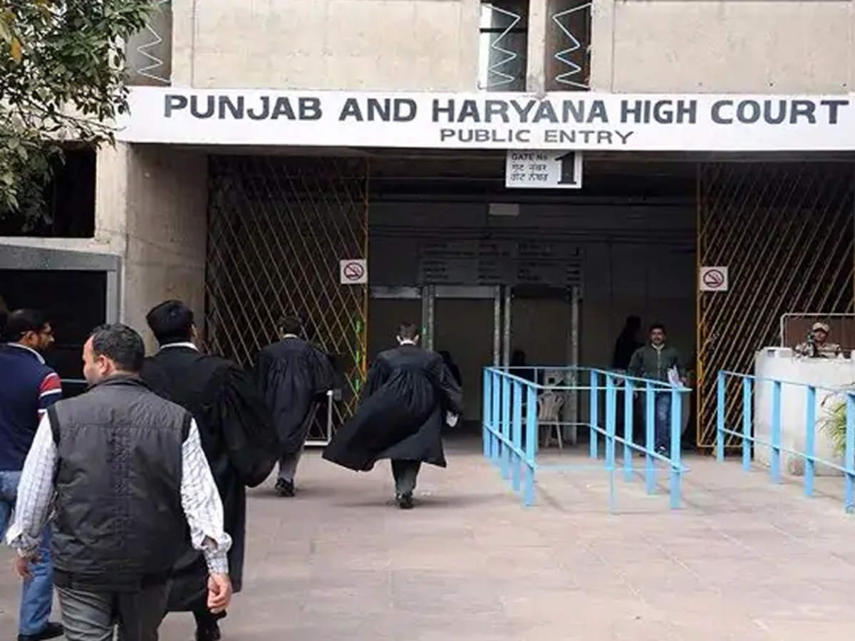 Covid-19: Punjab and Haryana high court bar association demands resuming of  physical hearing of cases in HC, subordinate courts | Chandigarh News -  Times of India