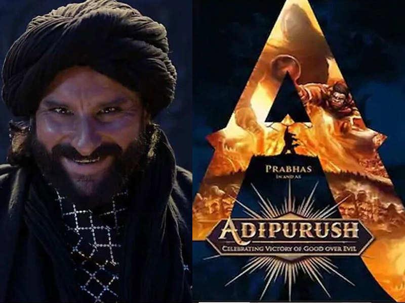 Adipurush': Will Saif Ali Khan play Raavan opposite Prabhas in the upcoming  3D eipc? | Hindi Movie News - Times of India