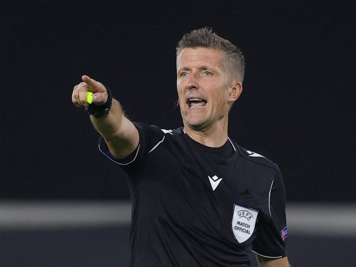 Italian Daniele Orsato to referee Champions League final | Football News -  Times of India