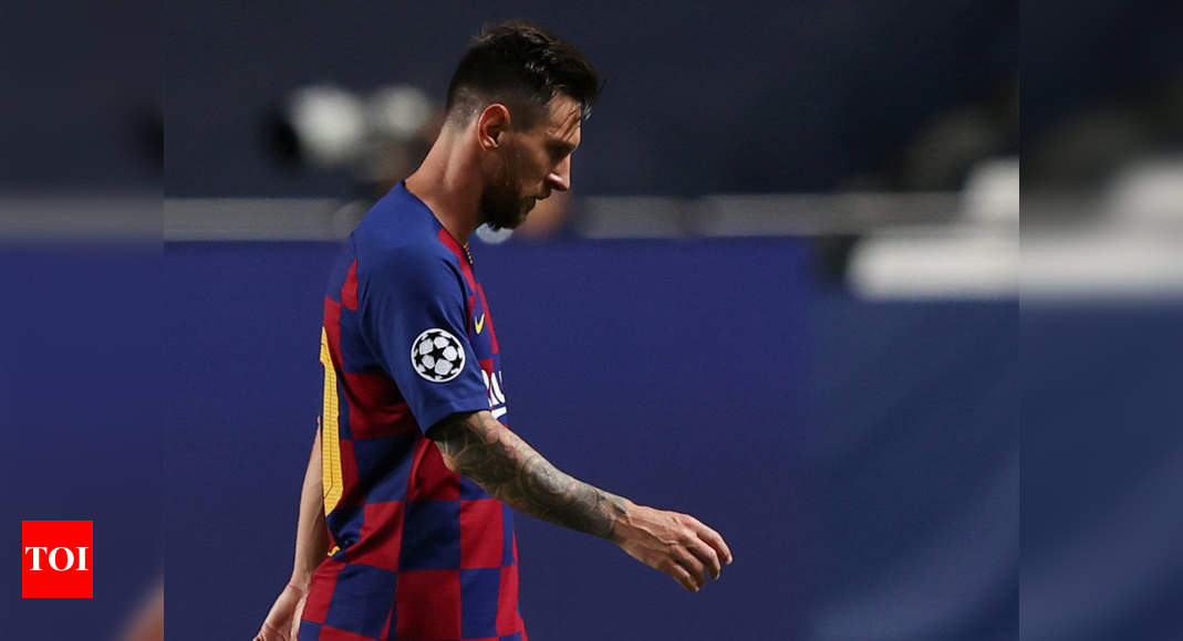 Lionel Messi Contemplates Barcelona Exit Reports Football News Times Of India