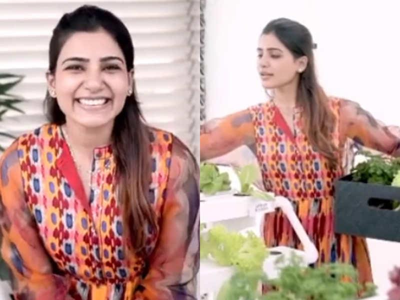 Samantha Akkineni's stylish Ikat kurta is perfect if you want to go vocal for local