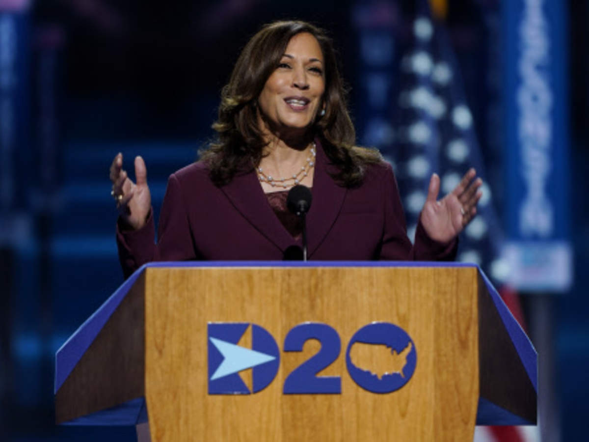 Democrats See Racism In Gop Mispronunciations Of Kamala Times Of India