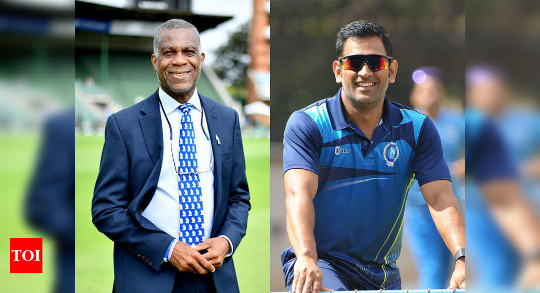 What a career this man had: Michael Holding on MS Dhoni - Times of India