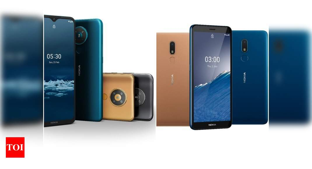 Nokia 5 3 And Nokia C3 Launched In India Price Availability And More Times Of India