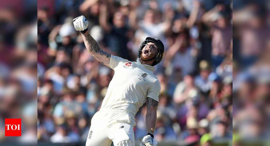 On this day in 2019: Ben Stokes played one of the memorable Test knocks in Ashes - Times of India