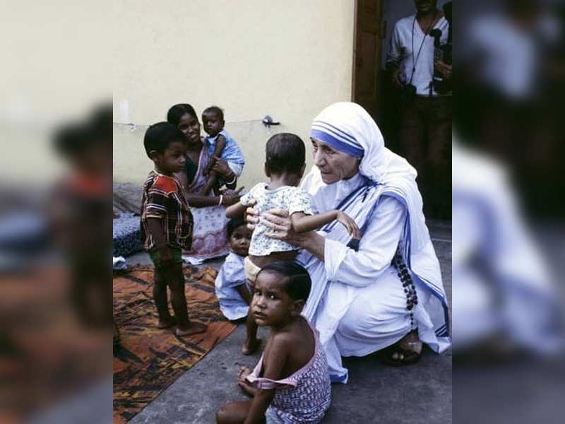 Mother Teresa has also been honoured with a Padma Shri and a Bharat Ratna, along with many other pretigious awards.