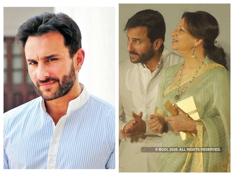 Saif Ali Khan says turning fifty is petrifying, thanks mother Sharmila Tagore's genes which makes him look younger