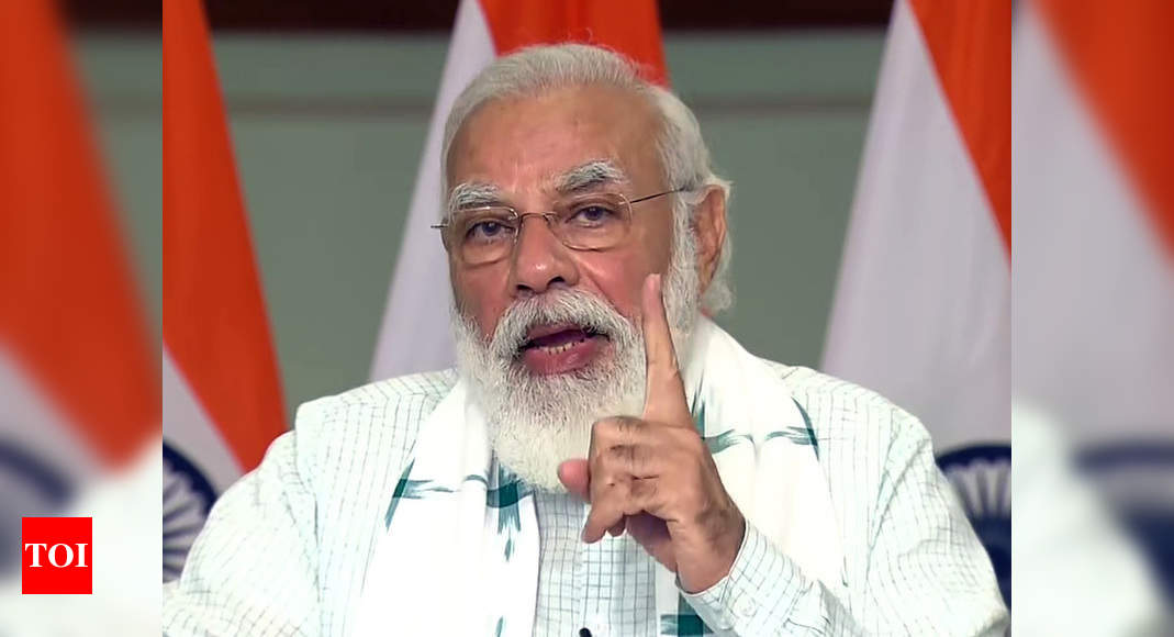 India's self-reliance in defence sector to boost its global standing: PM Modi - Times of India