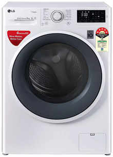 LG FHT1006ZNW 6.0 Kg Fully Automatic Front Load Washing Machine with Steam