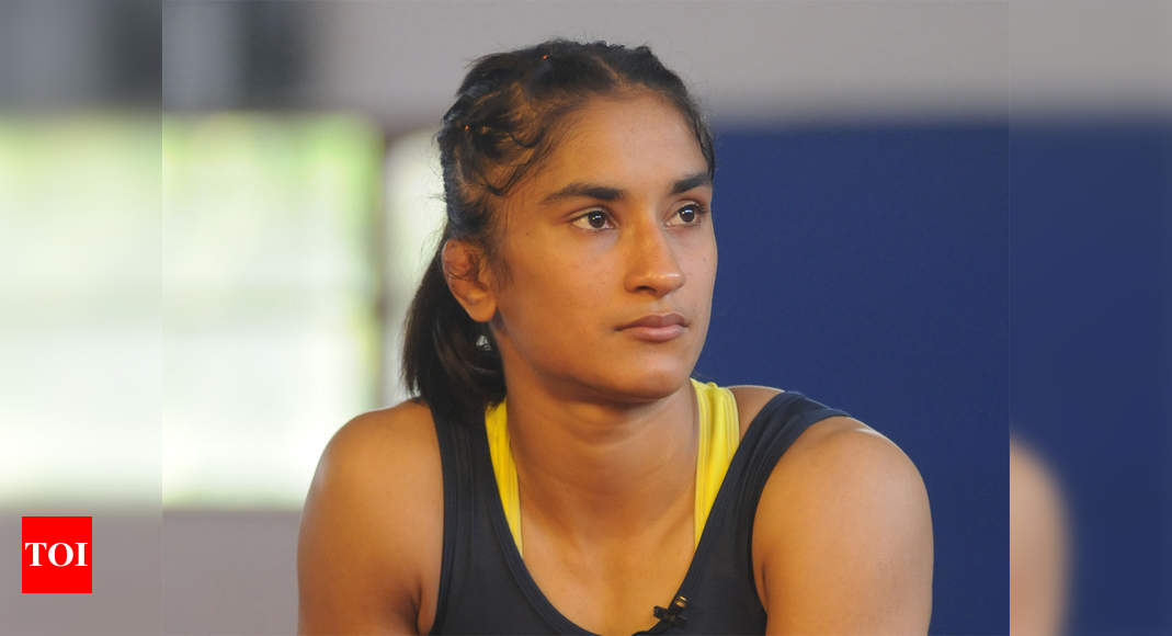 Vinesh Phogat tests positive for COVID-19, Bajrang Punia says men's camp should start as scheduled - Times of India