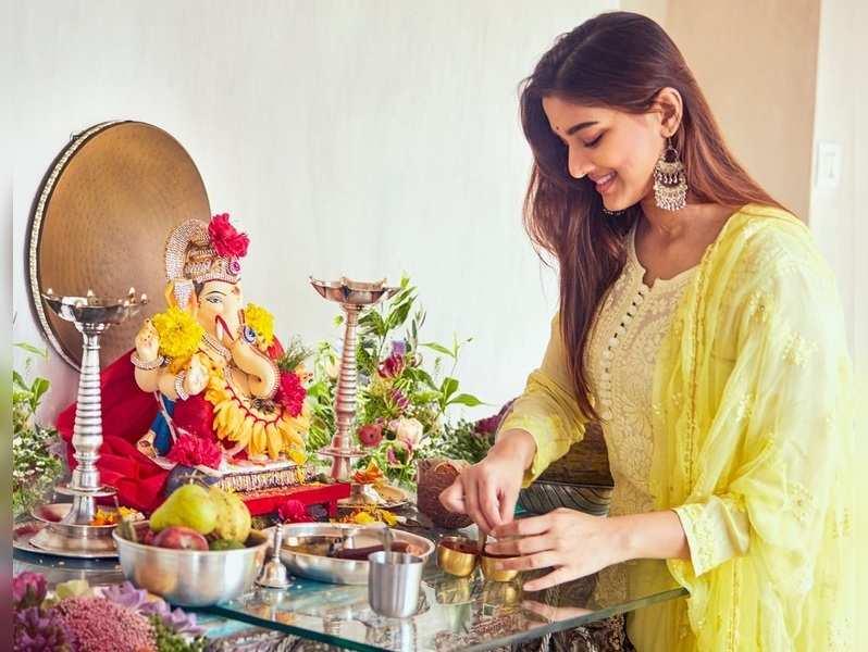 Ganeshotsav is my most favourite festival: Saiee Manjrekar