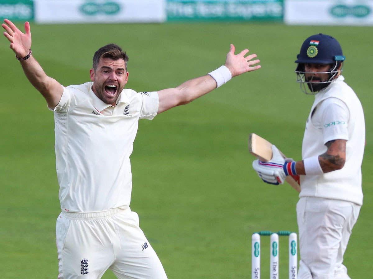 James Anderson keenly waiting to challenge Virat Kohli in his backyard next  year   Cricket News - Times of India