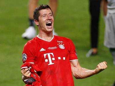 Robert Lewandowski is Germany's 'footballer of the year'