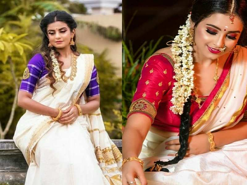 Namratha Gowda, Chandana Ananthakrishna and others dress to impress on Onam